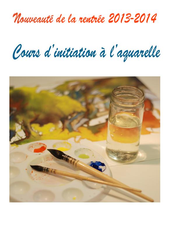Cours aquarelle