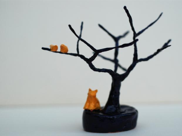 Camille arbre modelage