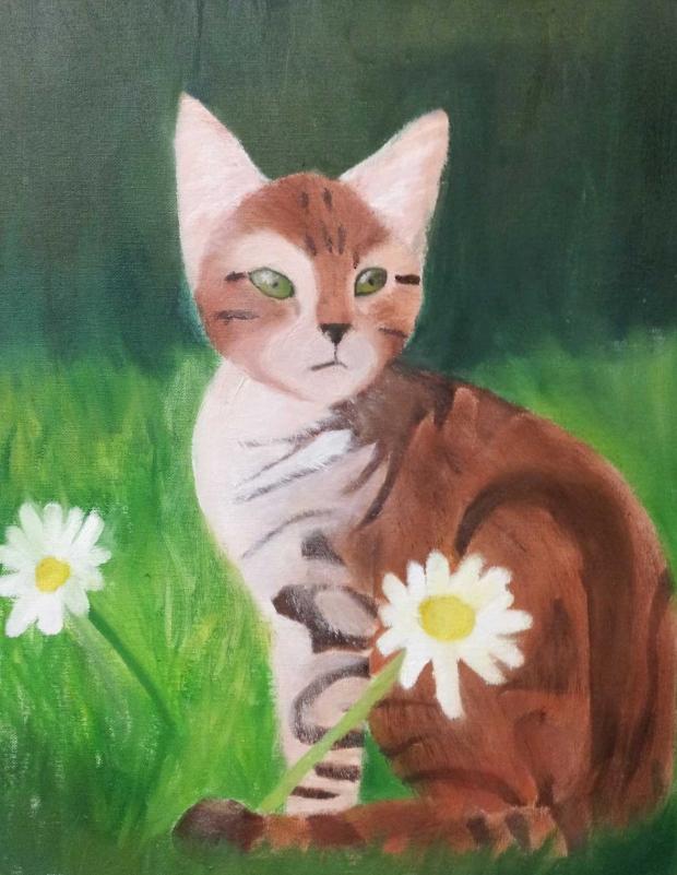 Chat-peinture-Elodie