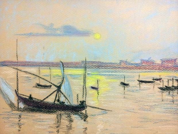Bateaux-Claude-pastels